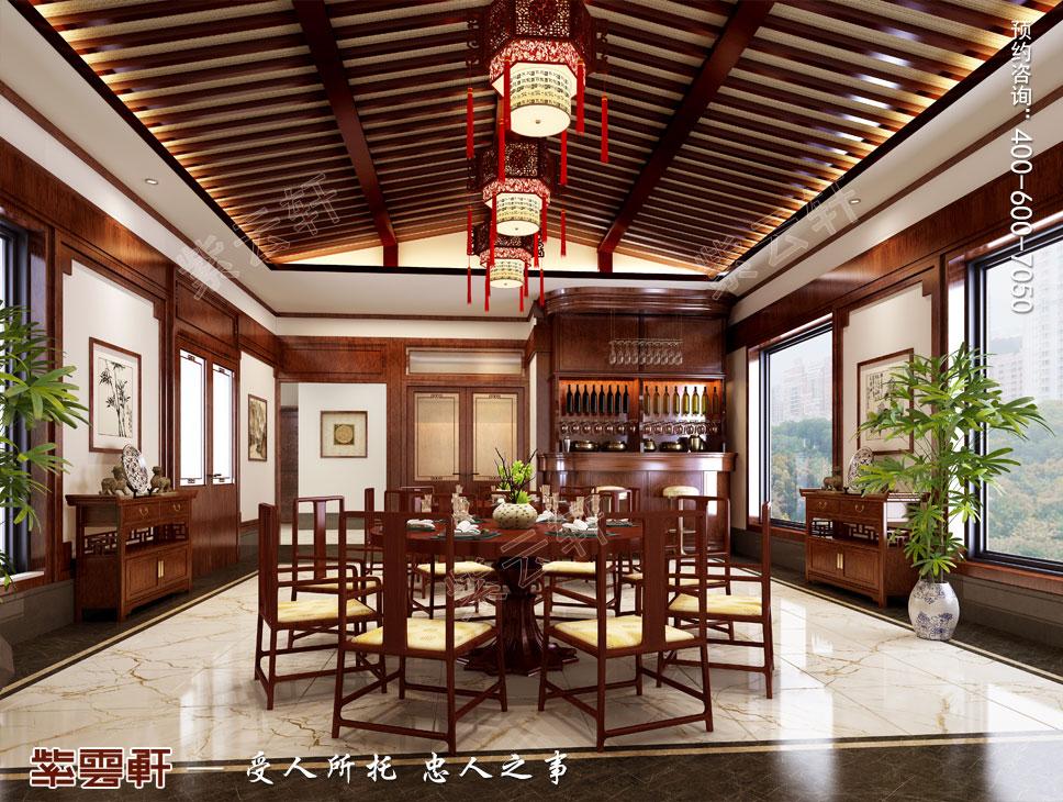 大餐厅现代中式风格装修