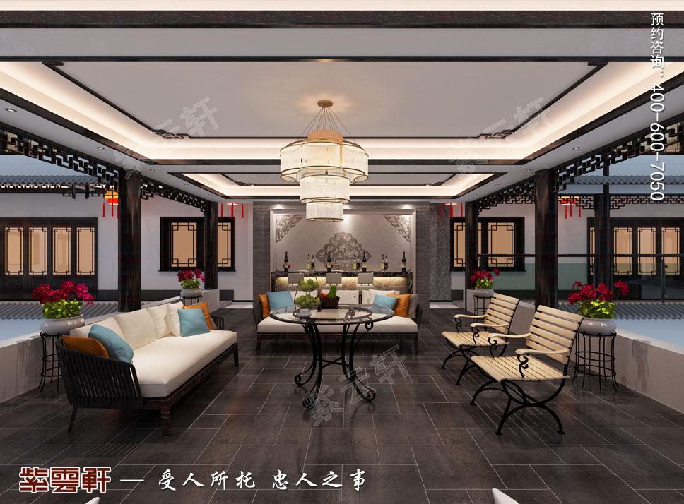 休闲阳台现代中式风格装修