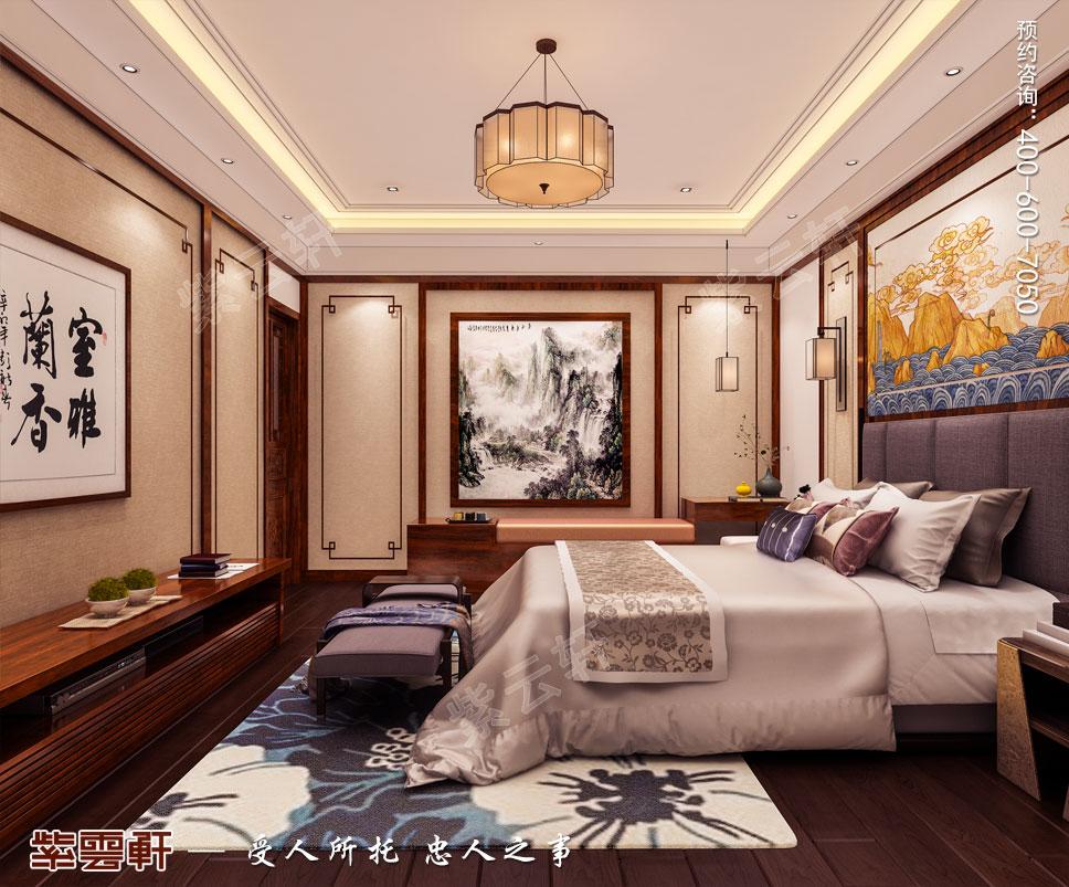 豪宅主卧室中式装修