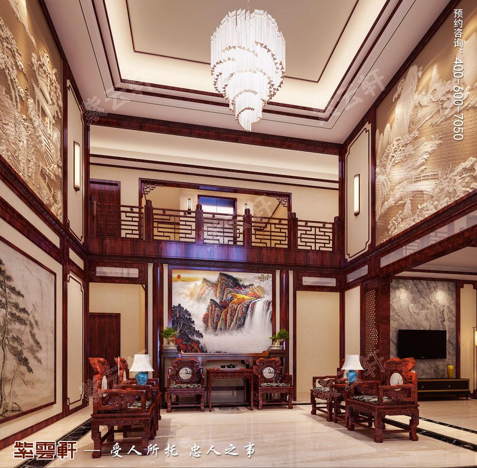 中堂现代中式风格装修