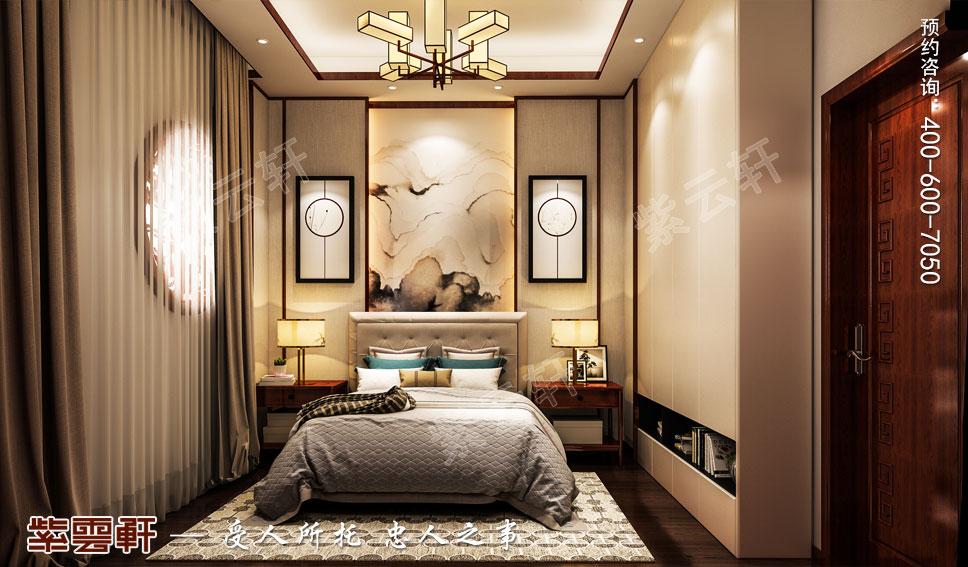 女儿房现代中式风格装修