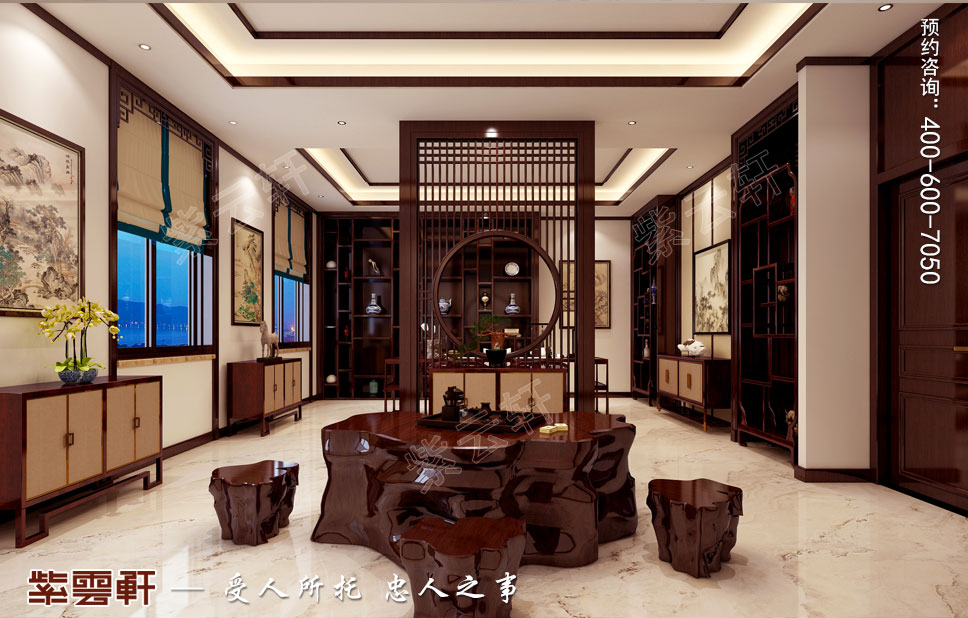 豪宅收藏室中式装修