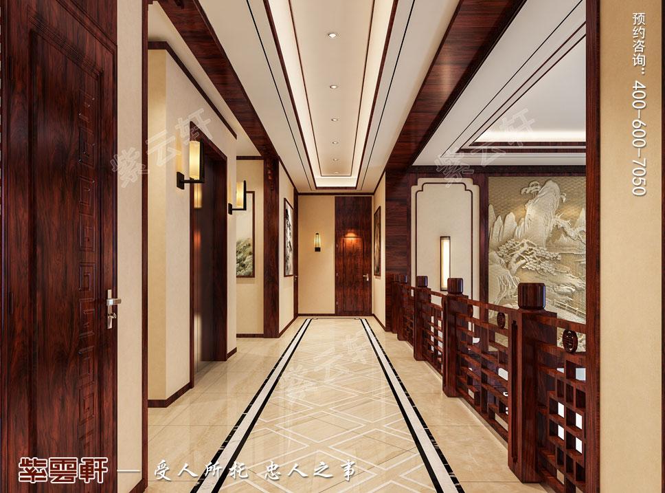 走廊现代中式风格装修