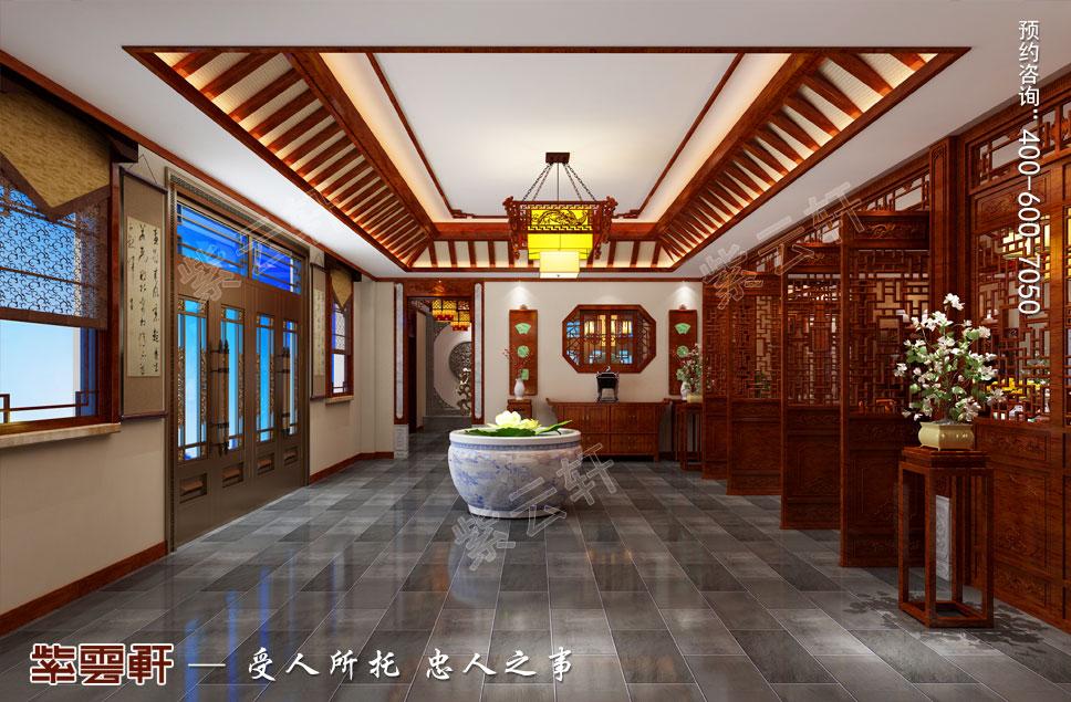 过厅中式装修设计图