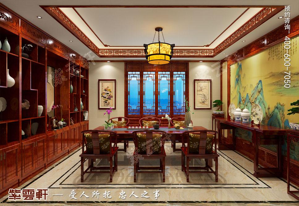 茶室中式装修设计图