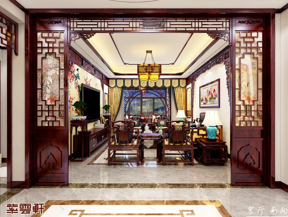 江苏徐州市顾先生中式装修效果图 古雅如诗 华美似画