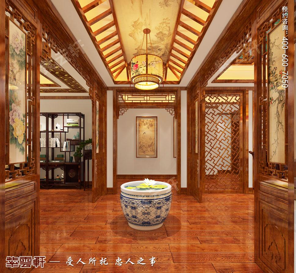 别墅门厅装修设计