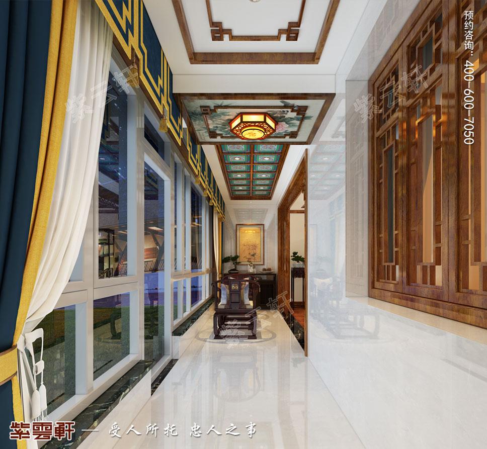 8客厅明清风格装修