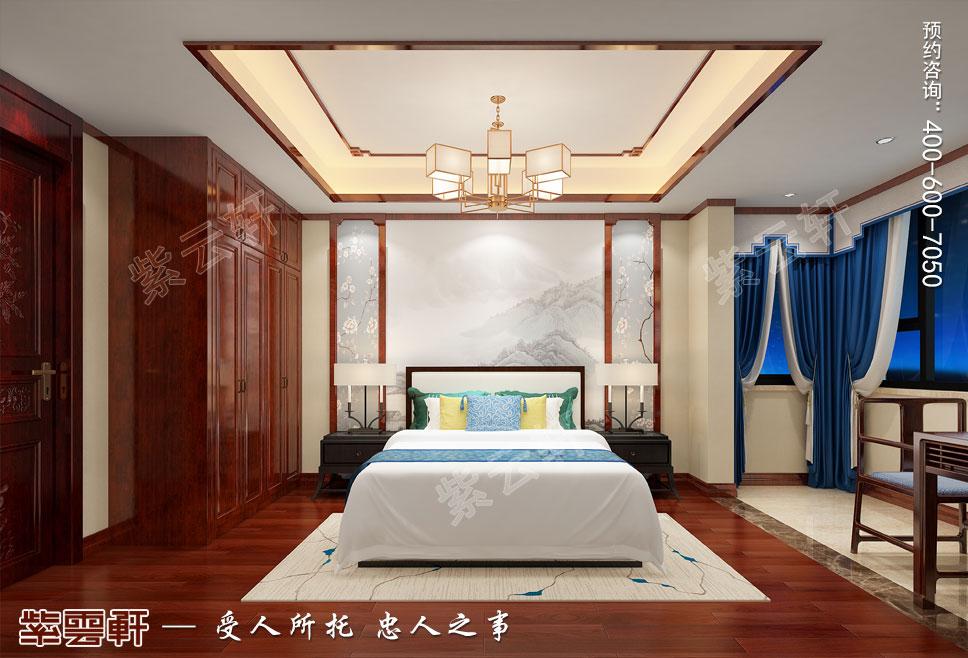 卧室别墅中式装修