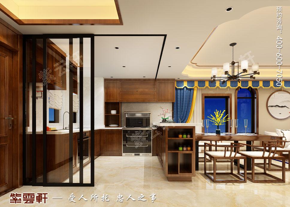 厨房中式设计装修