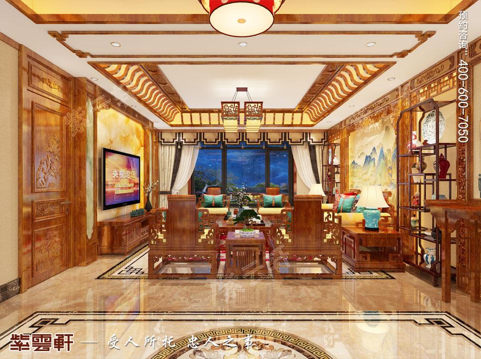 客厅中式设计装修