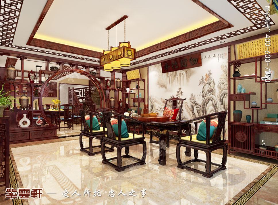 长沙刘总中式豪宅装修案例