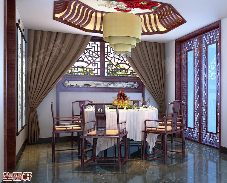 家门口的婉约派中式装修风格-临沂中式装修豪宅