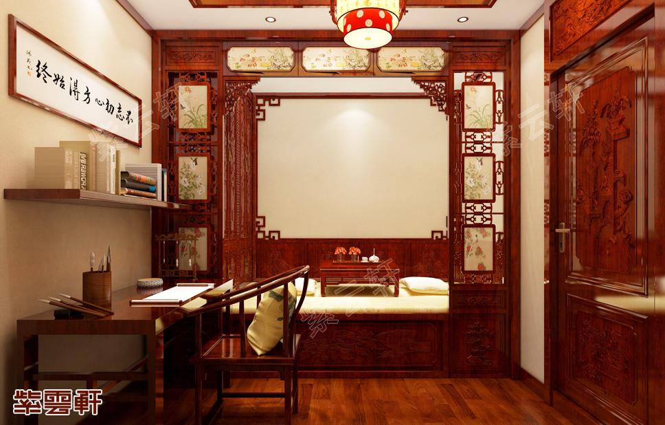 原来书法爱好者的中式暖阁是这样装的!