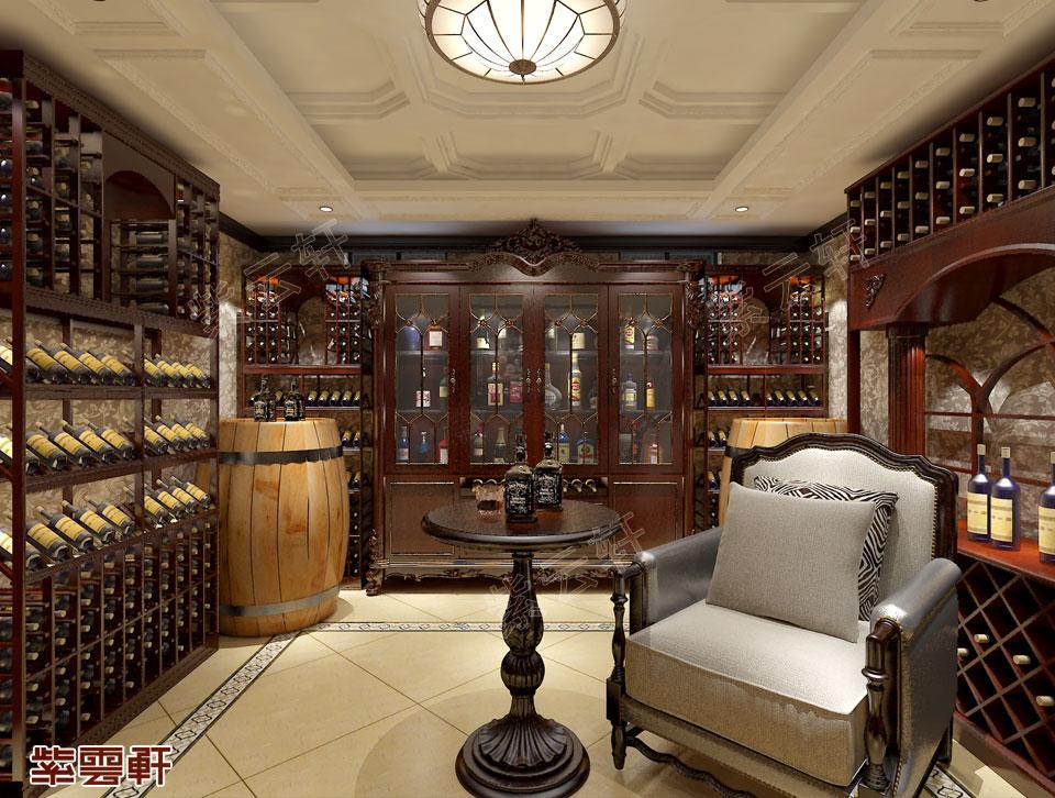 酒窖中式设计