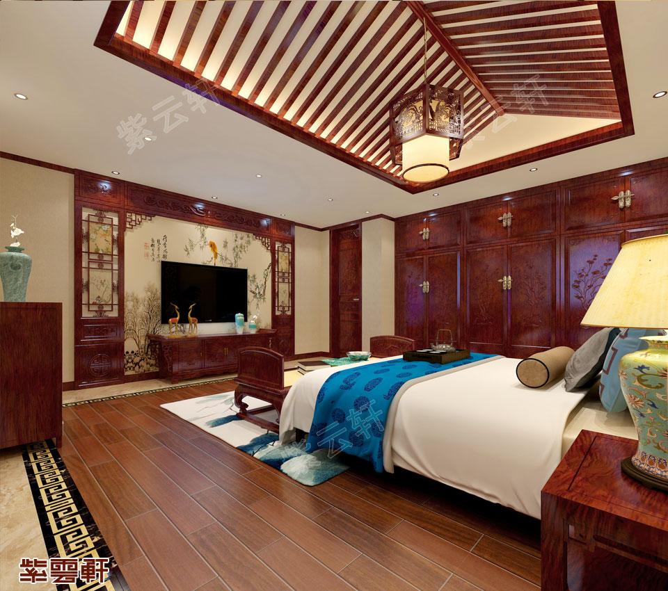 卧室中式设计