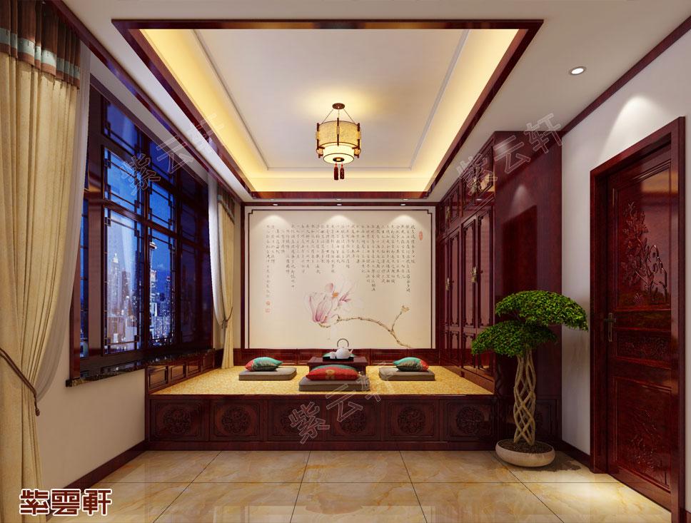 中式设计暖阁