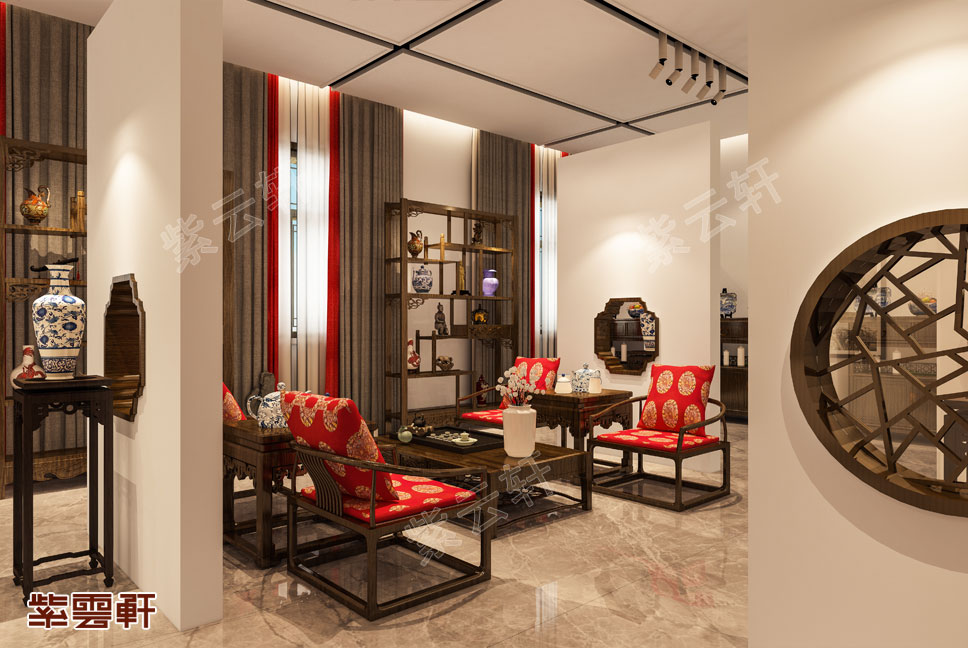 中式设计茶室