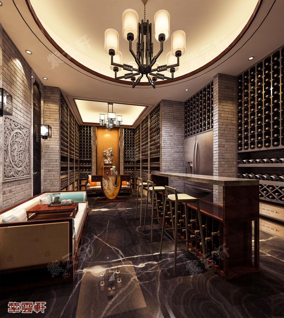 中式设计酒窖