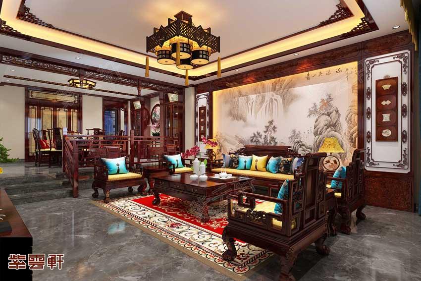 很有韵味的中式豪宅,看了一眼就爱上了