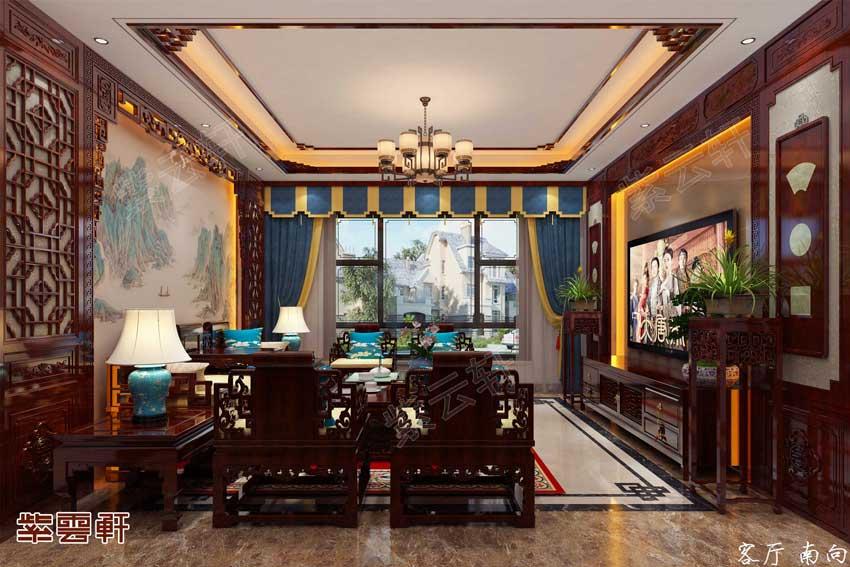 中式装修豪宅,这样的房子真是美上天了