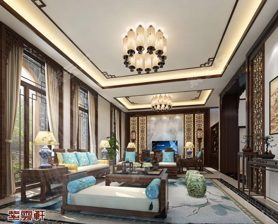 传统设计装修客厅