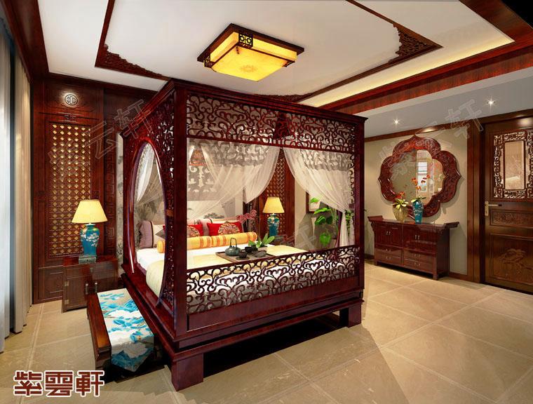 卧室中式装修设计图