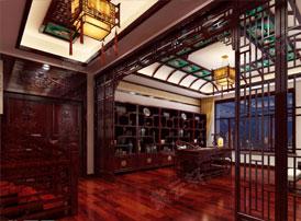 碧流深处读书房--中式书房的演变传承