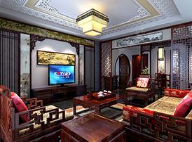 客厅古典设计绽放异彩
