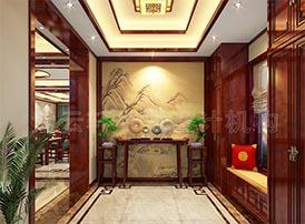 门厅古典设计与门的装饰