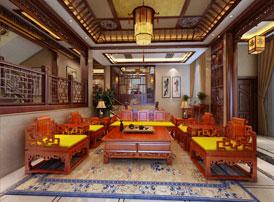 传统别墅样板间中古典设计的魅力