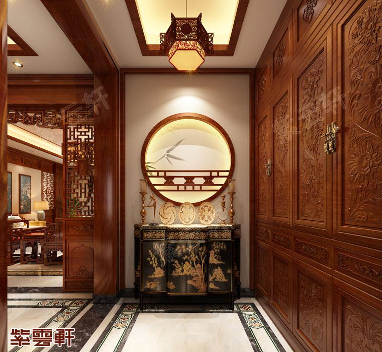 玄关古典装饰