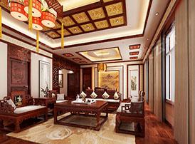 起居室传统设计中的古典意境