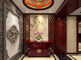 从复古门厅设计图看中式设计的美