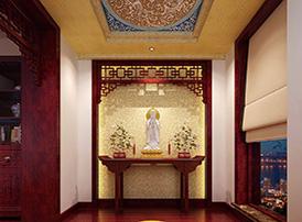 神足韵高的佛堂传统设计