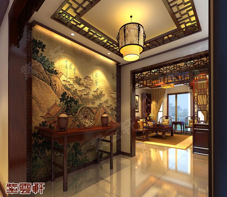中式风格门厅