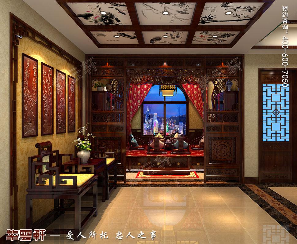 别墅传统装饰