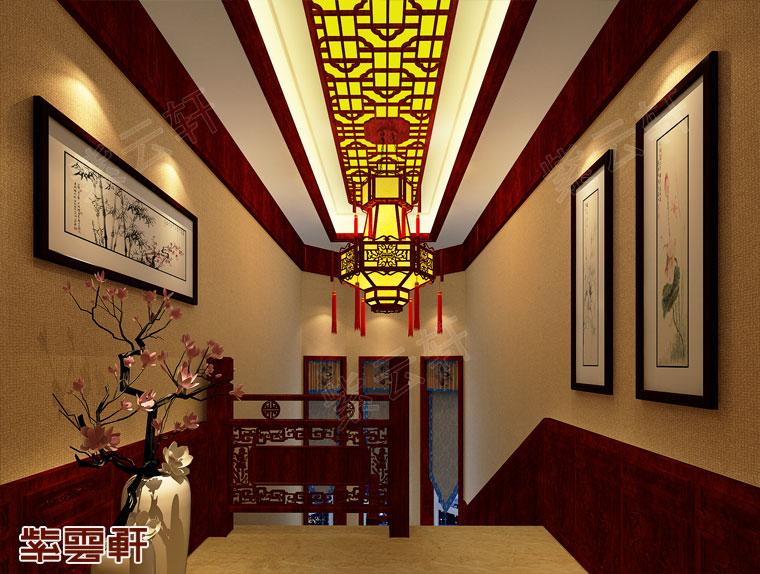 楼梯中式装修