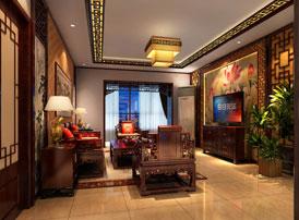 中式家装设计效果图承载着岁月的朦胧