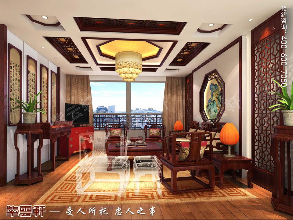 洋房中式设计