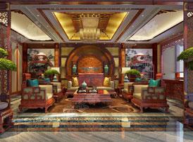 中式茶室设计讲求人与自然的和谐统一