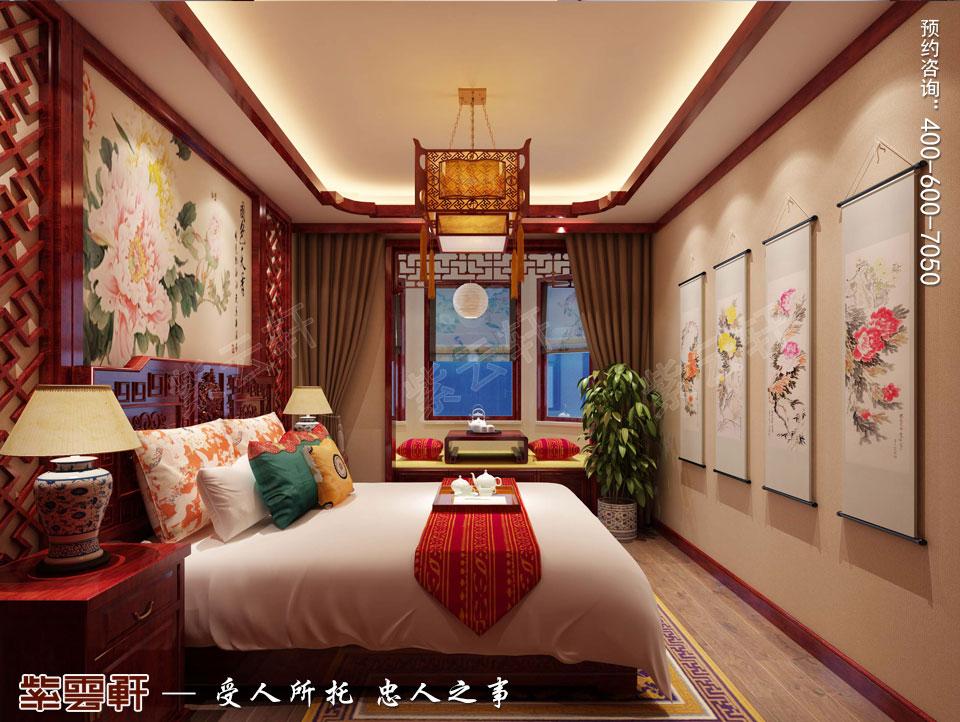 卧室现代中式装修效果图