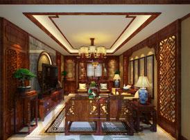 唐山滦南现代中式装修风格 含蓄清雅美轮美奂的家装盛貌
