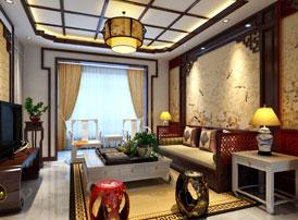 山东临沂简约古典中式设计平层住宅样板间案例 平添几分悠然的雅趣