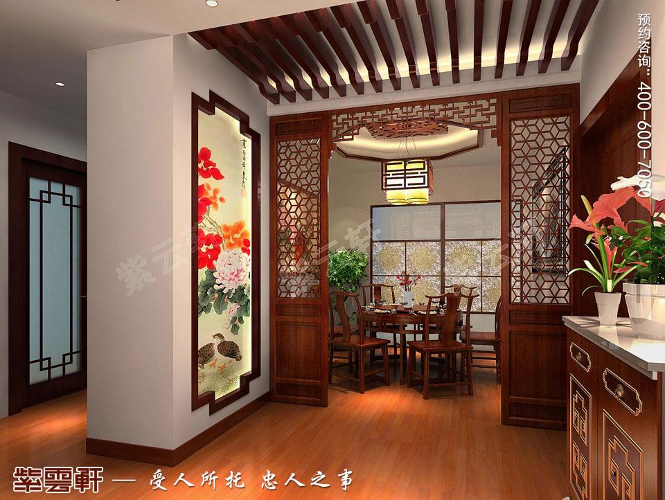 古典中式设计餐厅效果图