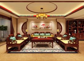 吉林长春古典中式设计精品住宅案例效果图欣赏 尽显东方神韵