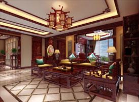 山西晋城现代中式装修效果图 新豪宅自有一番浓郁中国风