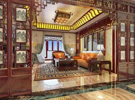 江苏常州简约古典中式风格 来自书香门第的宁静与优雅