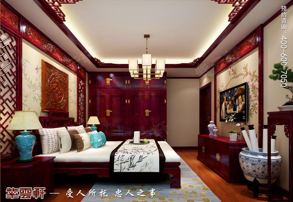 古典中式风格客卧装修效果图