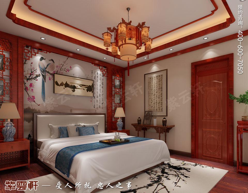 次卧传统中式风格装修效果图